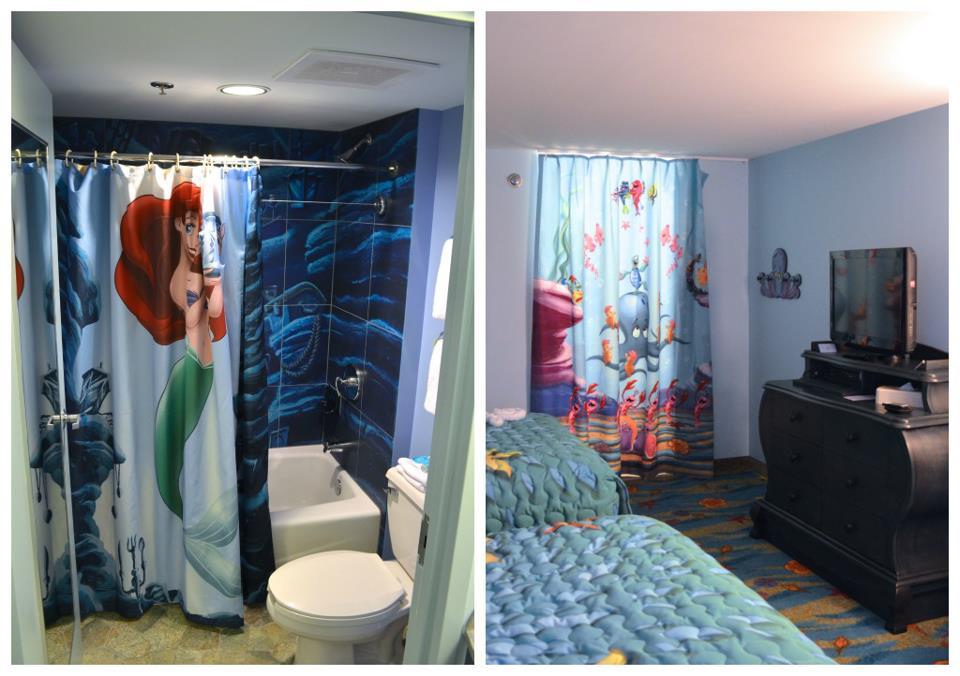 Sirenita hotel art of animation
