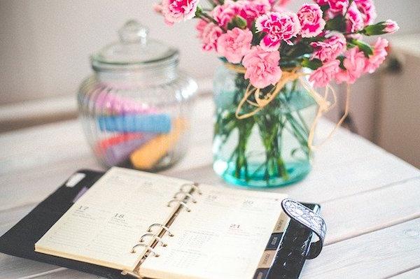 organizar tiempo consejos agenda