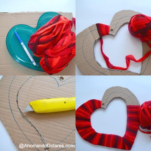 Decoracion De San Valentin Para La Puerta Diy Vivir Latina - Decoracion-san-valentin