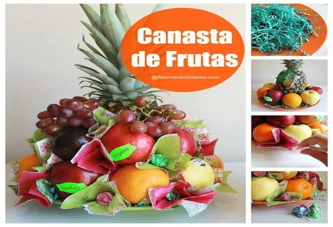 C mo hacer una canasta de frutas diy vivir latina for Como secar frutas para decoracion