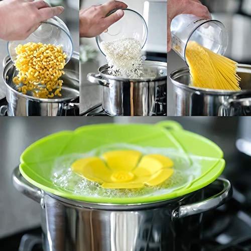 ahorrar tiempo cocina derrames