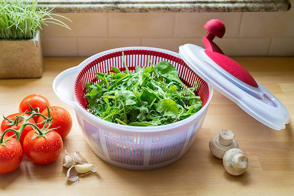ahorrar tiempo cocina mezclador ensaladas