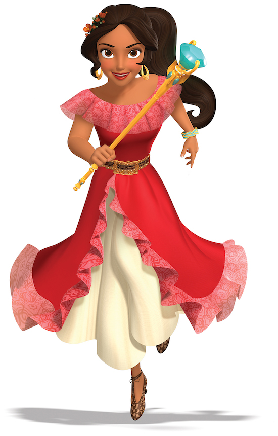Disney Parks will welcome its first princess inspired by diverse Latin cultures. Princess Elena of Avalor will be appearing at Walt Disney World Resort this summer and at Disneyland Resort in the fall, following her television debut in a new animated series this summer on Disney Channel. (Courtesy of Disney Channel)