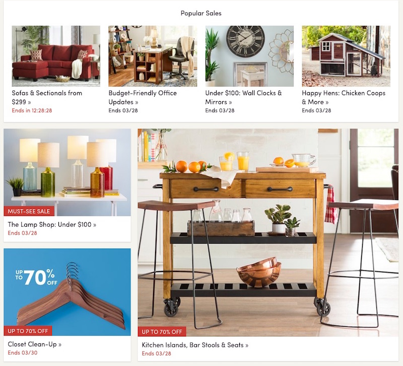 Muebles Por Internet Baratos : Sitios en internet para comprar muebles bonitos y baratos