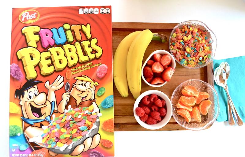 Smoothie bowl desayuno divertido