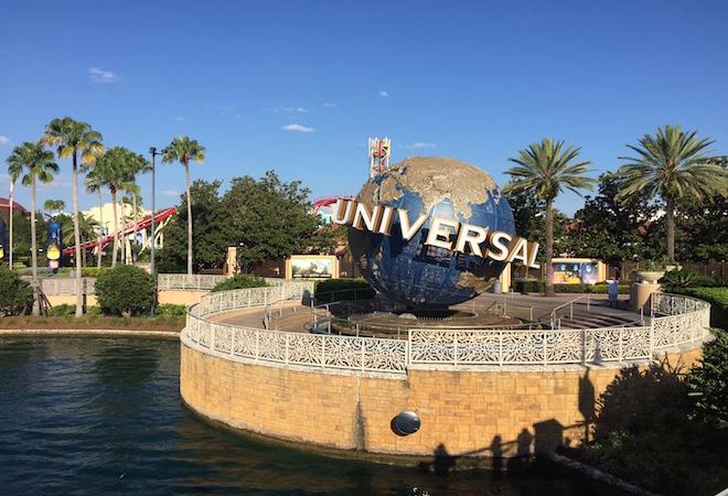 Visitando Universal studios