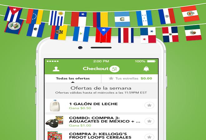 Aplicación Checkout 51 para ahorrar ahora en español