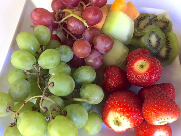 Ensalada de frutas con dulce de leche blog