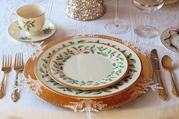 agueros de fin de año decorar mesa