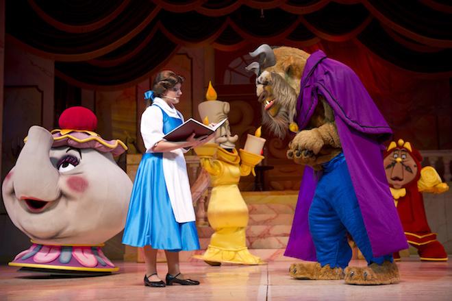 La Bella y la bestia en Disney