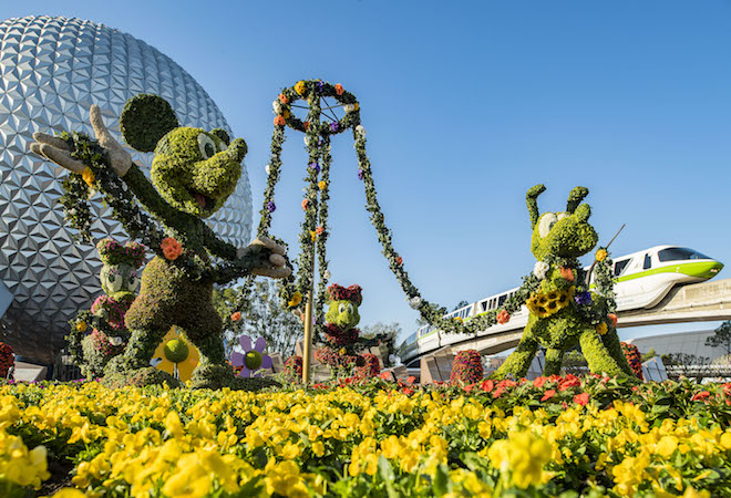 Llega la Primavera con el Festival Internacional de Flores y Jardines de Epcot VivirLatina