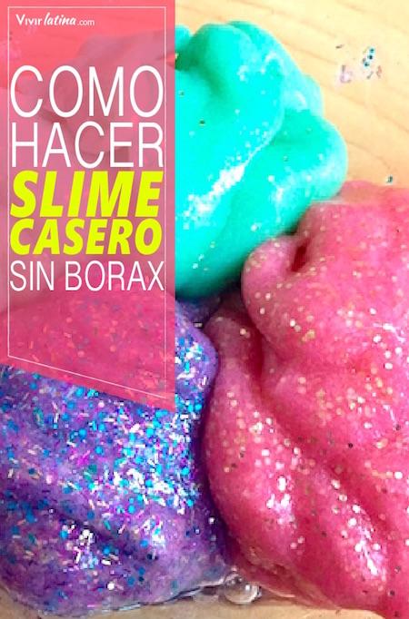 como hacer slime casero