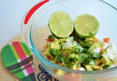 Ensalada de verano - guacamole