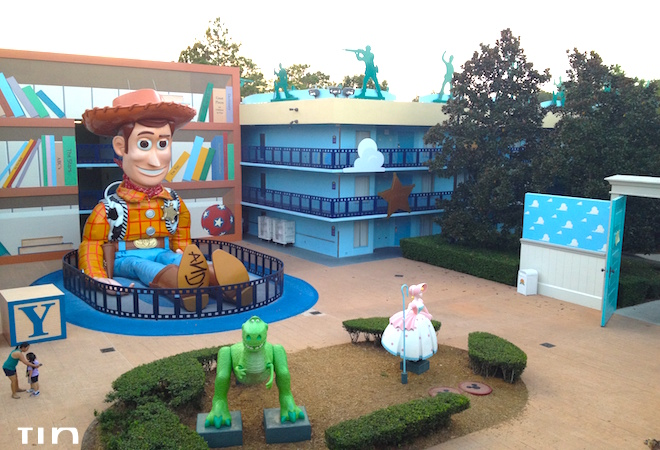 Hoteles de Disney All Star