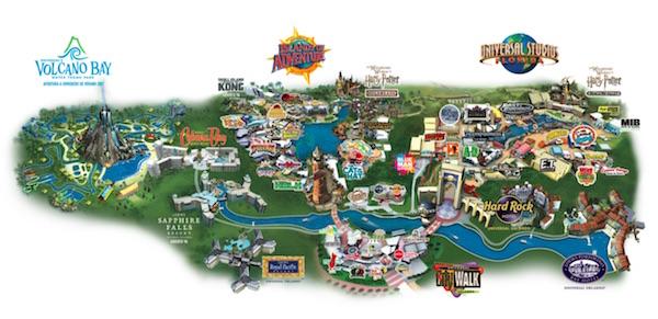 Universal studios parques un solo dia