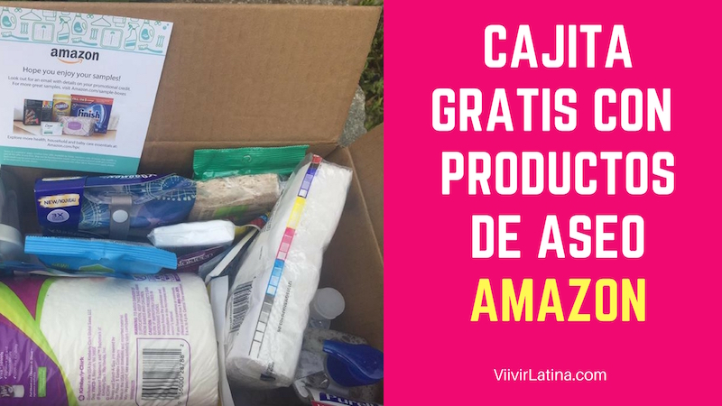 cajita gratis productos de aseo amazon