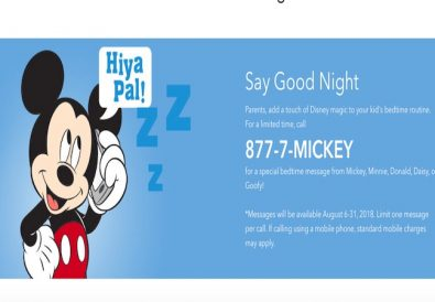 Recibe un mensaje de Mickey