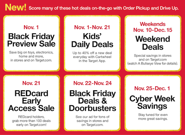 Black Friday Target ofertas