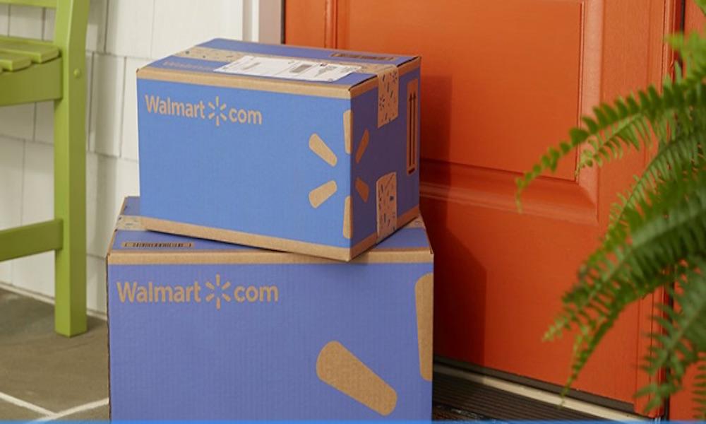Cajas de envios de walmart
