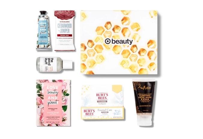 Cajita productos de belleza Target.com