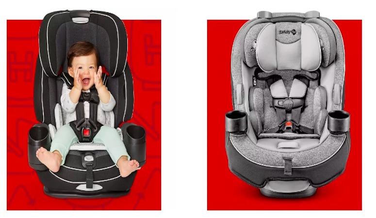 ¿Buscando comprar una nueva silla para el carro? Ahorra dinero con el evento Car Seat Trade-In Event de Target.