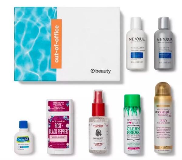 cajas de productos Target